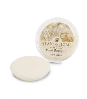 Pearl Bouquet Wax Melt Heart and Home