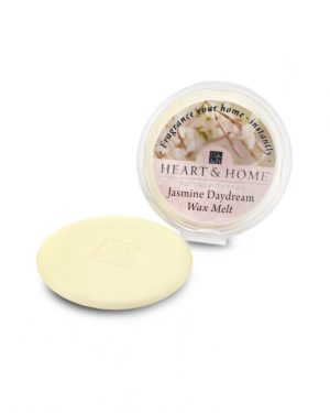 Jasmine Daydream Wax Melt Heart and Home