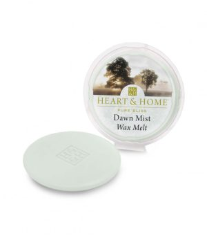 Dawn Mist Wax Melt Heart and Home