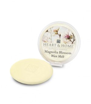Magnolia Blossom Wax Melt Heart and Home
