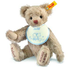 Steiff Personalised-Birth Classic Teddy Bear EAN 001765