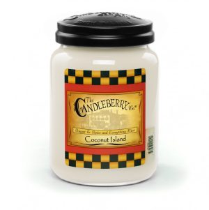 Candleberry Candles Coconut Island Large Jar Candle