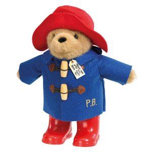 Paddington Bear Small Classic with Boots - Rainbow Designs