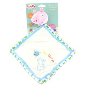 Peppa George Pig Comforter Rainbow Designs