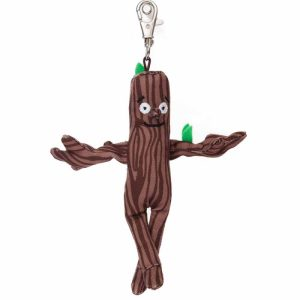 Stick man stickman Keyring Backpack Clip Soft Toy - Aurora World
