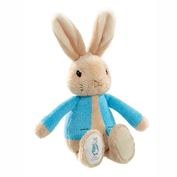 Peter Rabbit Bean Rattle Toy Beatrix Pottser Rainbow Designs