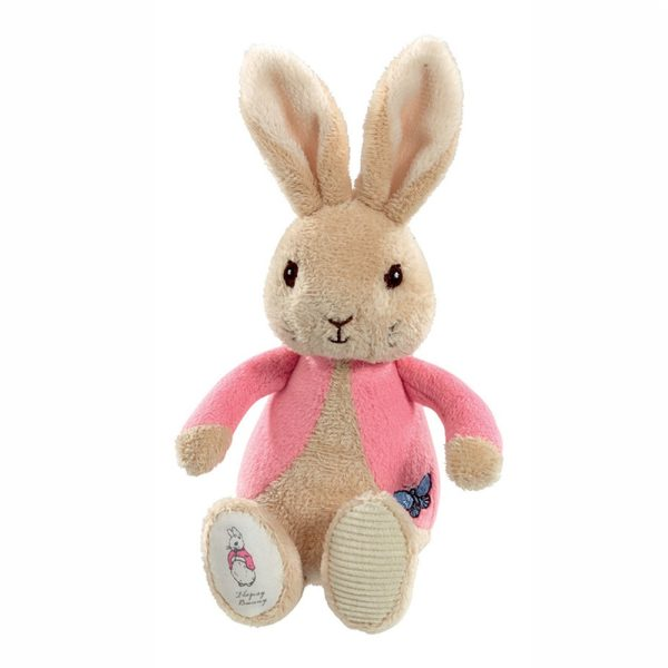 Peter Rabbit Flopsy Bean Rattle - Beatrix Potter Rainbow Designs