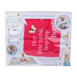 Peter Rabbit Tummy Time Activity Playmat Beatrix Potter Rainbow Designs