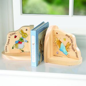 Beatrix Potter Wooden Bookends Peter Rabbit Rainbow Designs