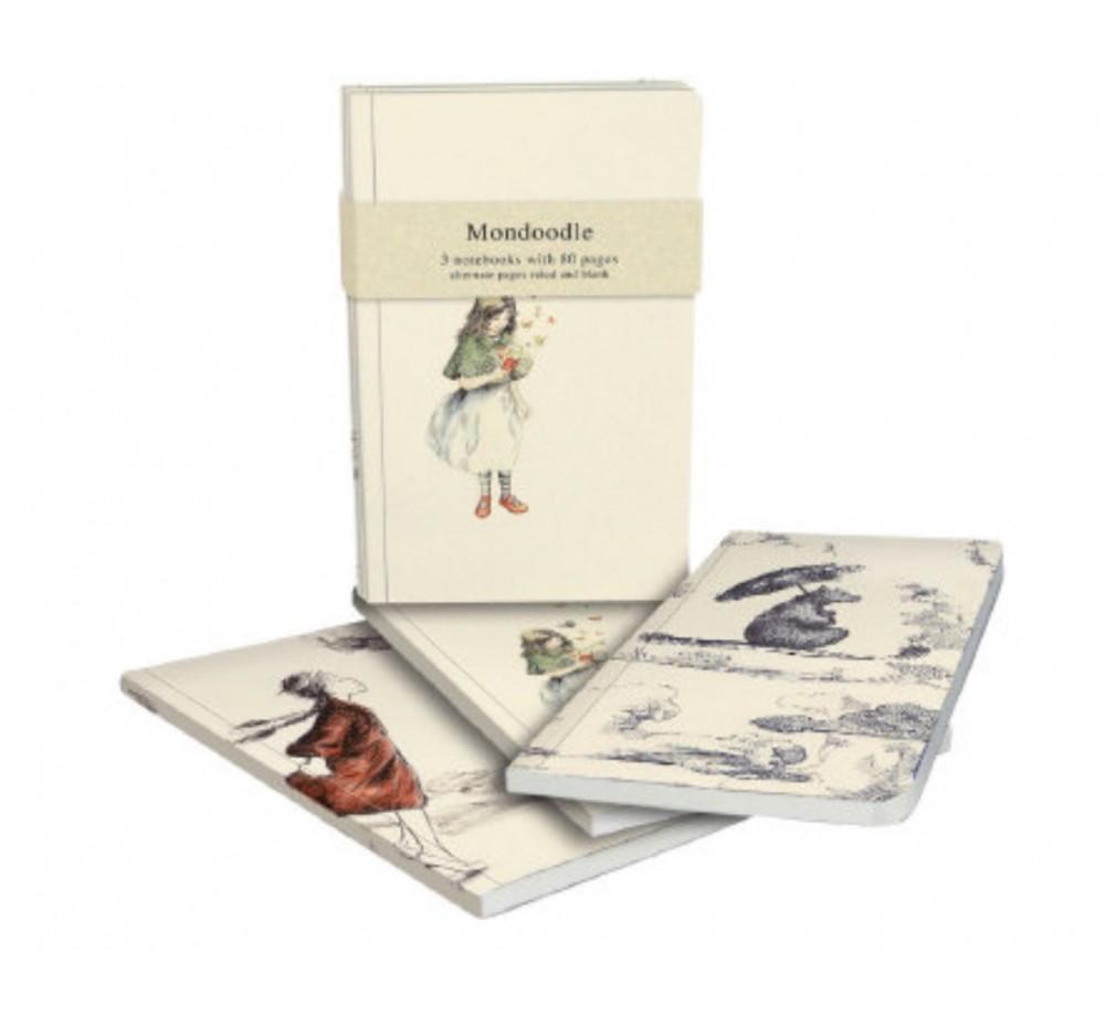 Roger La Borde Mondoodle Exercise Notebook Bundle of three