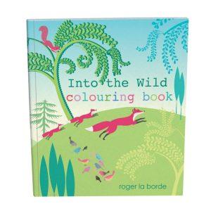 Roger La Borde Into The Wild Colouring Book Critters