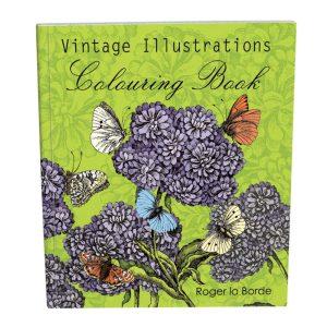 Roger La Borde Vintage Illustrations Colouring Book Mrs Merrion