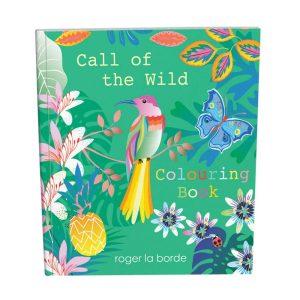 Roger La Borde Tropical Call of the Wild Colouring Book