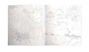 Roger La Borde Tropical Colouring Book Call of the Wild