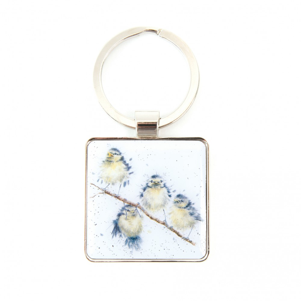 Wrendale Designs Hanging Out Bird Keyring