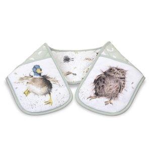 Wrendale Designs Double Oven Gloves Portmeirion Pimpernel