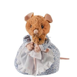 Beatrix Potter enesco Gund Peter Rabbit Hunca Munca Mouse and Baby Medium