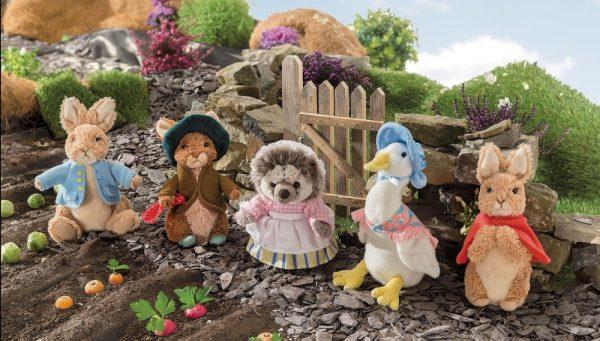 Beatrix Potter Enesco Gund Peter Rabbit Toys Benjamin Tiggy Winkle Jemima