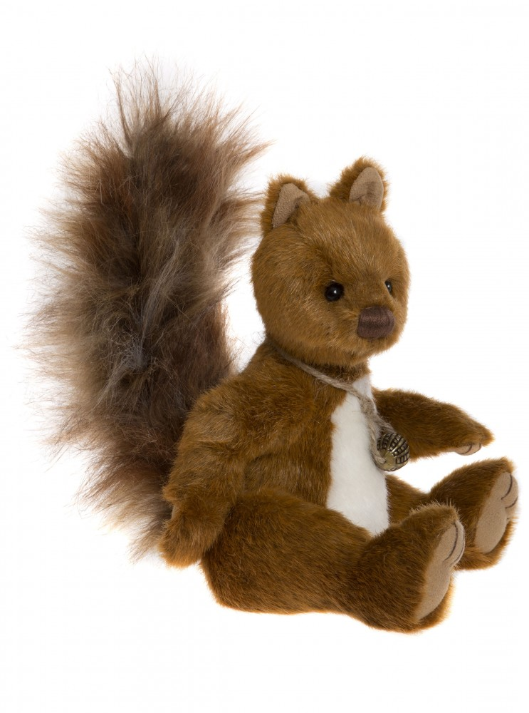 Charlie Bears Plush 2017 Berwick squirrel