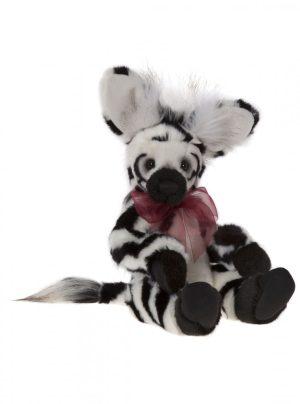 Charlie Bears Plush 2017 Humbug zebra