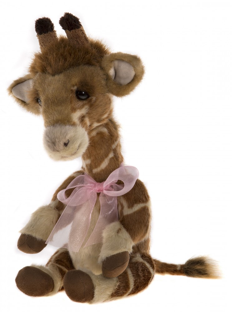 Charlie Bears Plush 2017 Giraffe stretch