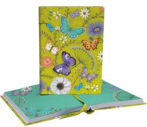 Roger La Borde Butterfly ball illustrated softback journal