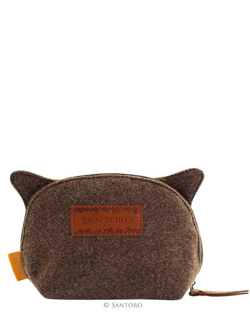 Wool /& Canvas Wallet By Santoro Book Owls
