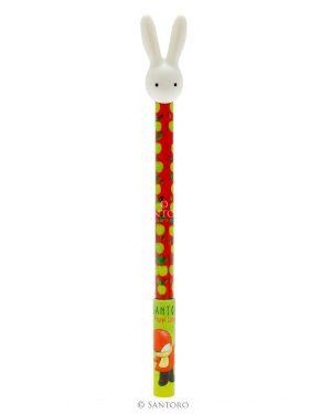 Poppi Loves - Pen with 3D Bunny Topper