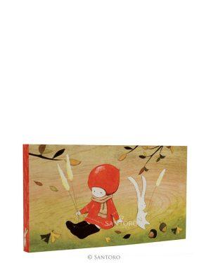 Poppi Loves Pocket Notebook - Autumn