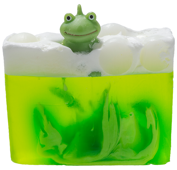 Its Not Easy Being Green Soap with Toy Frog - Bomb Cosmetics