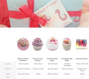 bomb cosmetics sprinkle of magic unicorn gift pack