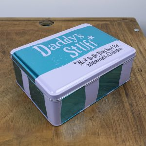 Daddys Stuff Tin - The Bright Side