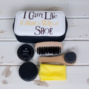 The Bright Side I Can't Live If Living Is Without Shoe Shoe Cleaning Kit