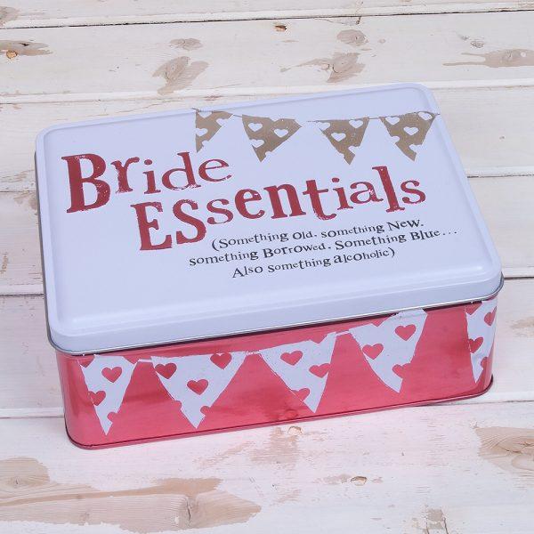 the bright side tins wedding the bride essentials tin