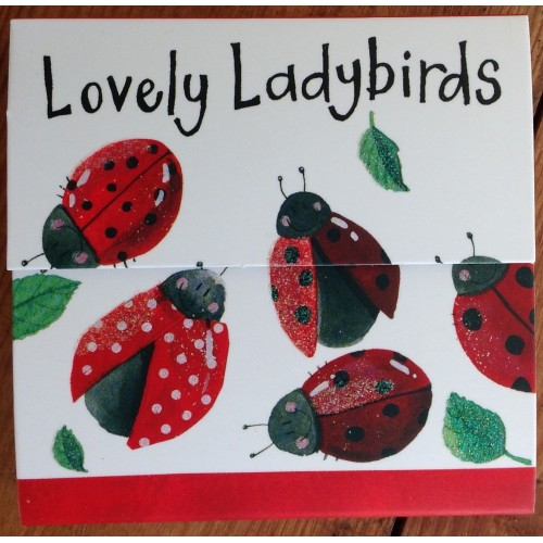 Lovely Ladybirds Magnetic Notepad - Alex Clark Art