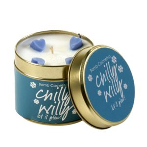 Chilly Willy Tinned Candle - Bomb Cosmetics