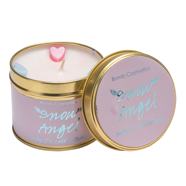 Snow Angel Tinned Candle - Bomb Cosmetics