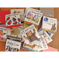 Alex Clark Beary Important Notes Mini Magnetic Notepads