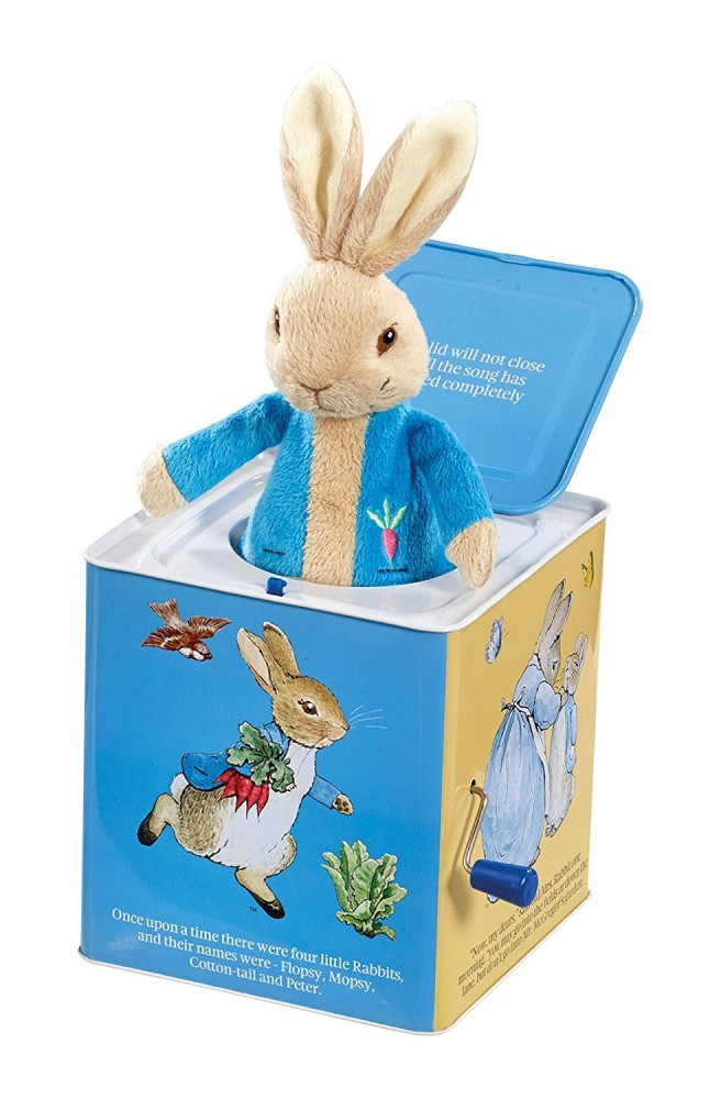 Peter Rabbit Jack In The Box Toy - Beatrix Potter