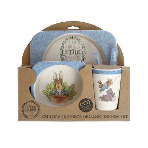 Peter Rabbit Organic Dinner Set - Beatrix Potter