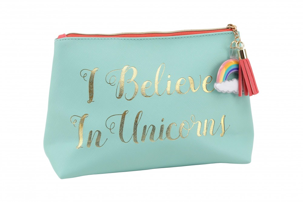 'I Believe In Unicorns' Makeup Bag - Cloud Nine
