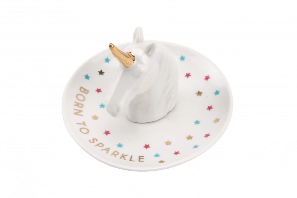Unicorn Head Ring Dish - Cloud Nine