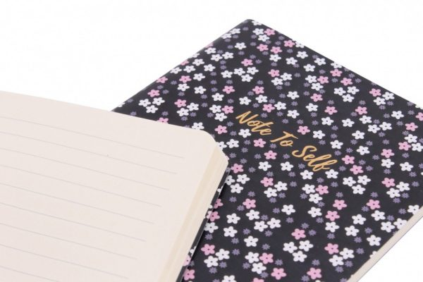 'Little Black Book' and 'Note To Self' A6 Notebook Set - Willow & Rose