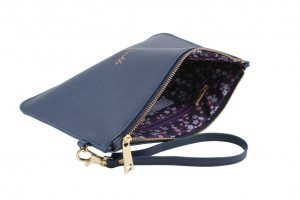 'Sparkle' Navy Blue Beauty Bag - Willow & Rose