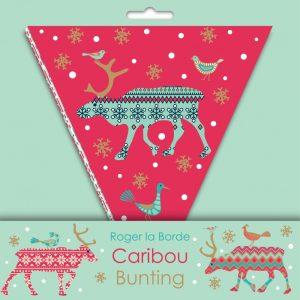 Caribou Christmas Bunting - Roger La Borde