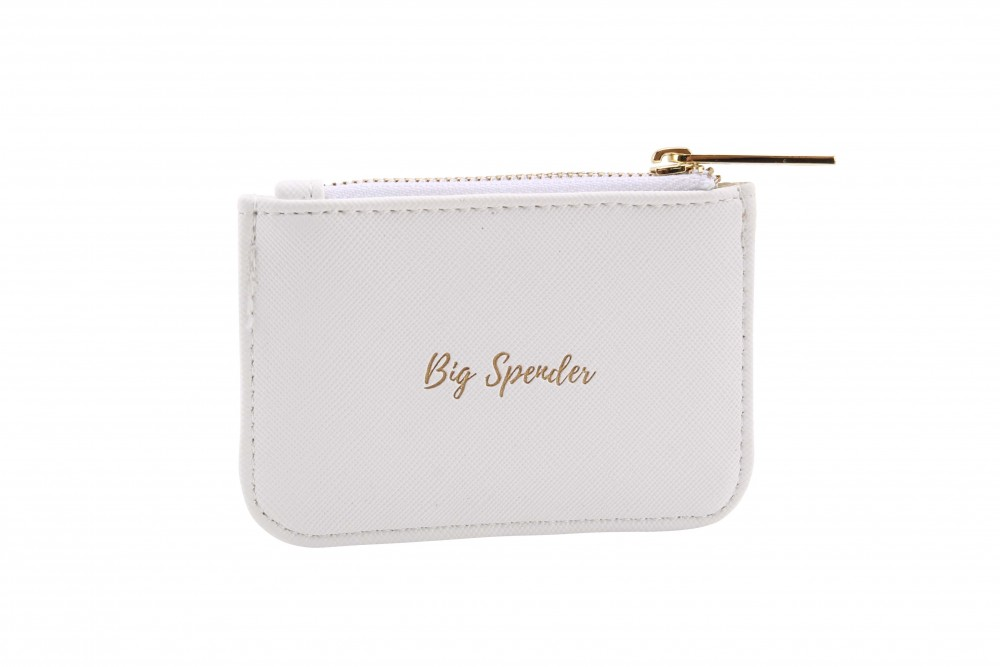 'Big Spender' White Rectangular Purse - Willow & Rose
