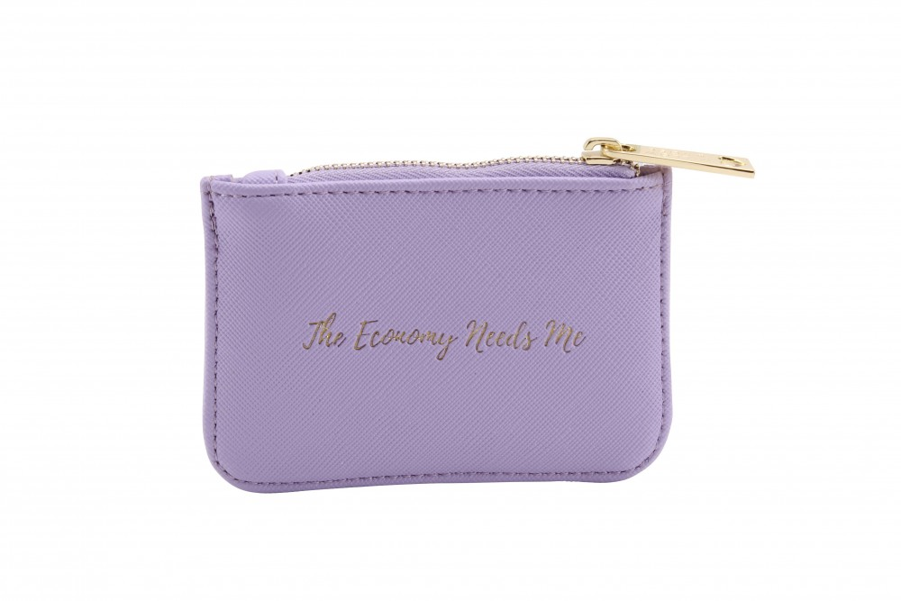 'The Economy Needs Me' Teal Rectangular Purse - Willow & Rose