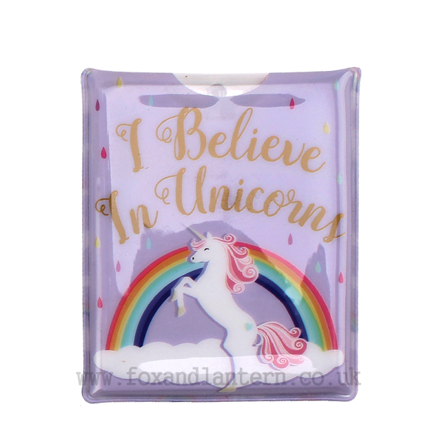 'I Believe In Unicorns' LED Pocket Torch - Cloud Nine