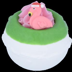 Flamingo Ho Ho Bath Bomb, 160g - Bomb Cosmetics