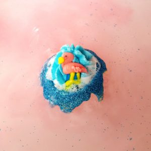 Flock Star Flamingo Bath Bomb, 160g - Bomb Cosmetics
